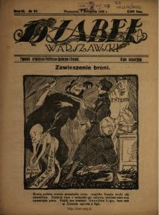 Djabeł Warszawski : tygodnik satyryczno-polityczno-społeczno-literacki : organ bezpartyjny 1920 N.31