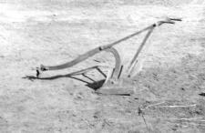 Blacksmith-made plough