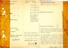 Kartoteka oceny histopatologicznej chorób układu nerwowego (1964) - opis nr 202/64