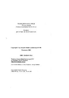 Automatyka, sterowanie, zarządzanie : książka jubileuszowa z okazji 70-lecia urodzin profesora Kazimierza Mańczaka * Rozmyte programowanie dynamiczne: wprowadzenie i przegląd zagadnień