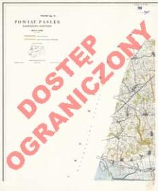 Powiat Pasłęk : województwo olsztyńskie : skala 1:25 000