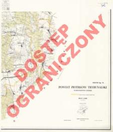Powiat Piotrków Trybunalski : województwo łódzkie : skala 1:25 000