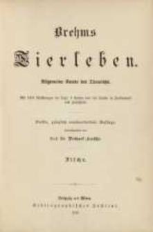 Brehms Tierleben : Die Fische. Bd. 8 /