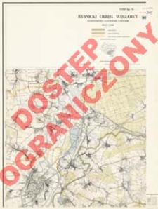 Rybnicki Okręg Węglowy : województwo katowickie i opolskie : skala 1:25 000