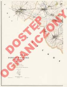 Powiat Racibórz : województwo opolskie : skala 1:25 000