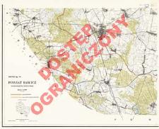 Powiat Rawicz : województwo poznańskie : skala 1:25 000