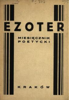 Ezoter : miesięcznik poetycki 1828 N.1-5