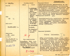 File of histopathological evaluation of nervous system diseases (1963) - nr 192/63