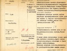 File of histopathological evaluation of nervous system diseases (1963) - nr 193/63