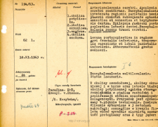 File of histopathological evaluation of nervous system diseases (1963) - nr 194/63