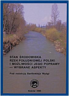 Wcinanie się rzek polskich Karpat w ciągu XX wieku