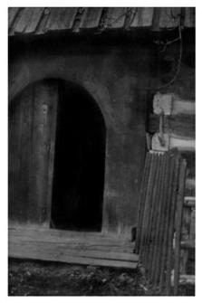 Cottage, door