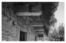 Chałupa, dach