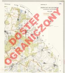 Powiat Sulechów : województwo zielonogórskie : skala 1:25 000
