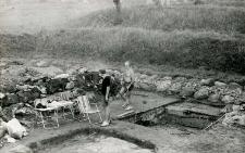Prace wykopaliskowe (L. Gajewski)
