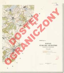 Powiat Stargard Szczeciński : województwo szczecińskie : skala 1:25 000