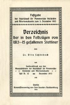 Monatsblätter Jhrg. 27, H. 12 (1913)