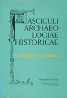 Apport des methodes analytiques pour l'etudes des objets archéologiques métalliques : application au fer