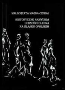 Historyczne nazwiska ludności Olesna na Śląsku Opolskim