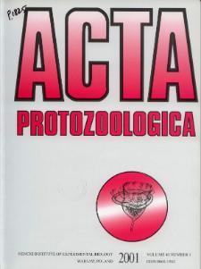 Acta Protozoologica Vol. 40 Nr 1 (2001)