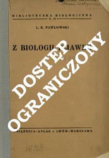 Z biologii pijawek