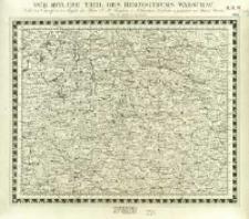 Charte von Mitteleuropa in 64 Sectionen. 21, Der Mitlere Theil des Herzogthums Warschau