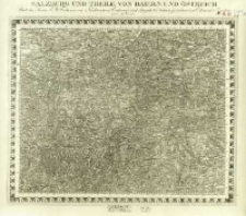 Charte von Mitteleuropa in 64 Sectionen. 43, Salzburg und Theile von Baiern und Östreich