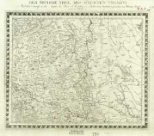 Charte von Mitteleuropa in 64 Sectionen. 53, Der Mitlere Theil des Südlichen Ungarns