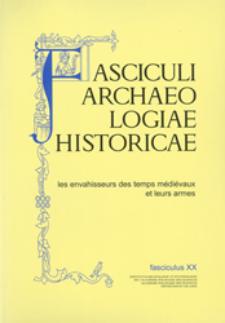 Les armes d'hast des barbares dans l'iconographie du Moyen Âge