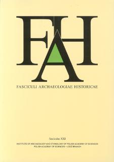 Fasciculi Archaeologiae Historicae. Fasc. 21 (2008), Index