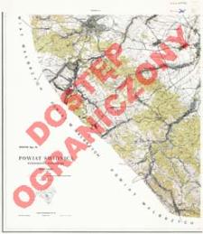 Powiat Świdnica : województwo wrocławskie : skala 1:25 000