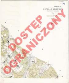 Powiat Świdwin : województwo koszalińskie : skala 1:25 000