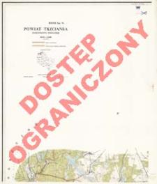Powiat Trzcianka : województwo poznańskie : skala 1:25 000