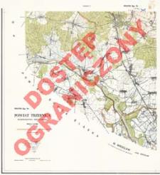 Powiat Trzebnica : województwo wrocławskie : skala 1:25 000