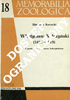 Władysław Kulczyński (1854-1919)