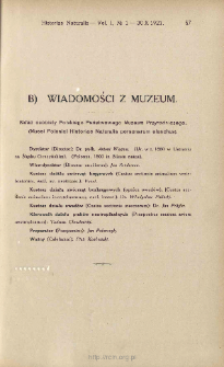Skład osobisty Polskiego Państwowego Muzeum Przyrodniczego