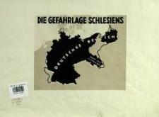 Die Gefahrlage Schlesiens