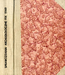 Sprawozdanie z prac wykopaliskowych w Sypniewie, pow. Maków Mazowiecki, w latach 1964 i 1965