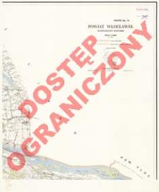 Powiat Włocławek : województwo bydgoskie : skala 1:25 000