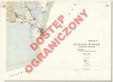 Powiat Wolin : województwo szczecińskie : skala 1:25 000