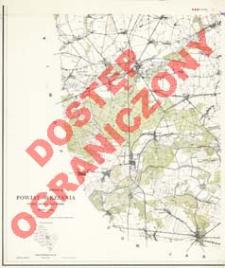 Powiat Września : województwo poznańskie : skala 1:25 000