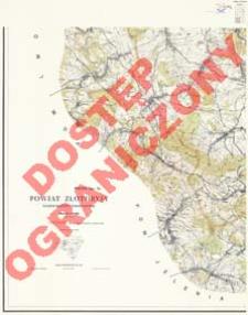 Powiat Złotoryja : województwo wrocławskie : skala 1:25 000