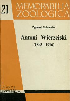 Antoni Wierzejski (1843-1916)