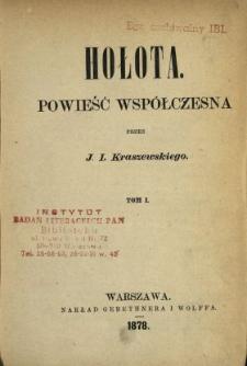 Hołota : powieść współczesna. T. 1