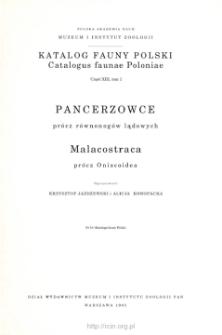 Pancerzowce prócz równonogów lądowych = Malacostraca prócz Oniscoidea
