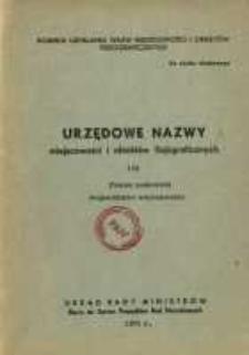 Urzędowe nazwy miejscowości i obiektów fizjograficznych. Nr 129; Powiat makowski, województwo warszawskie