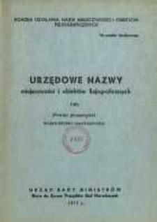 Urzędowe nazwy miejscowości i obiektów fizjograficznych. Nr140; Powiat przasmyski województwo warszawskie