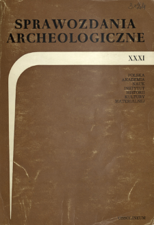 A survey of the investigations of the Bronze and Iron Age Sites in Poland in 1978