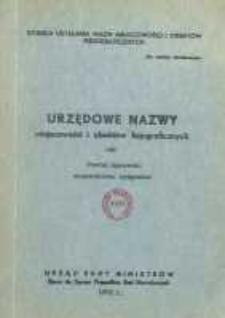 Urzędowe nazwy miejscowości i obiektów fizjograficznych. Nr180; Powiat lipnowski województwo bydgoskie