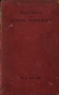 Principles of general physiology